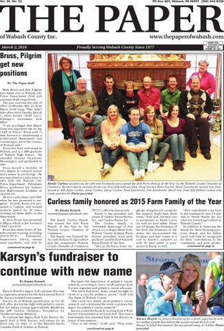 The paper of wabash county march 2 2016 issue by the paper of page 1 fandeluxe Choice Image