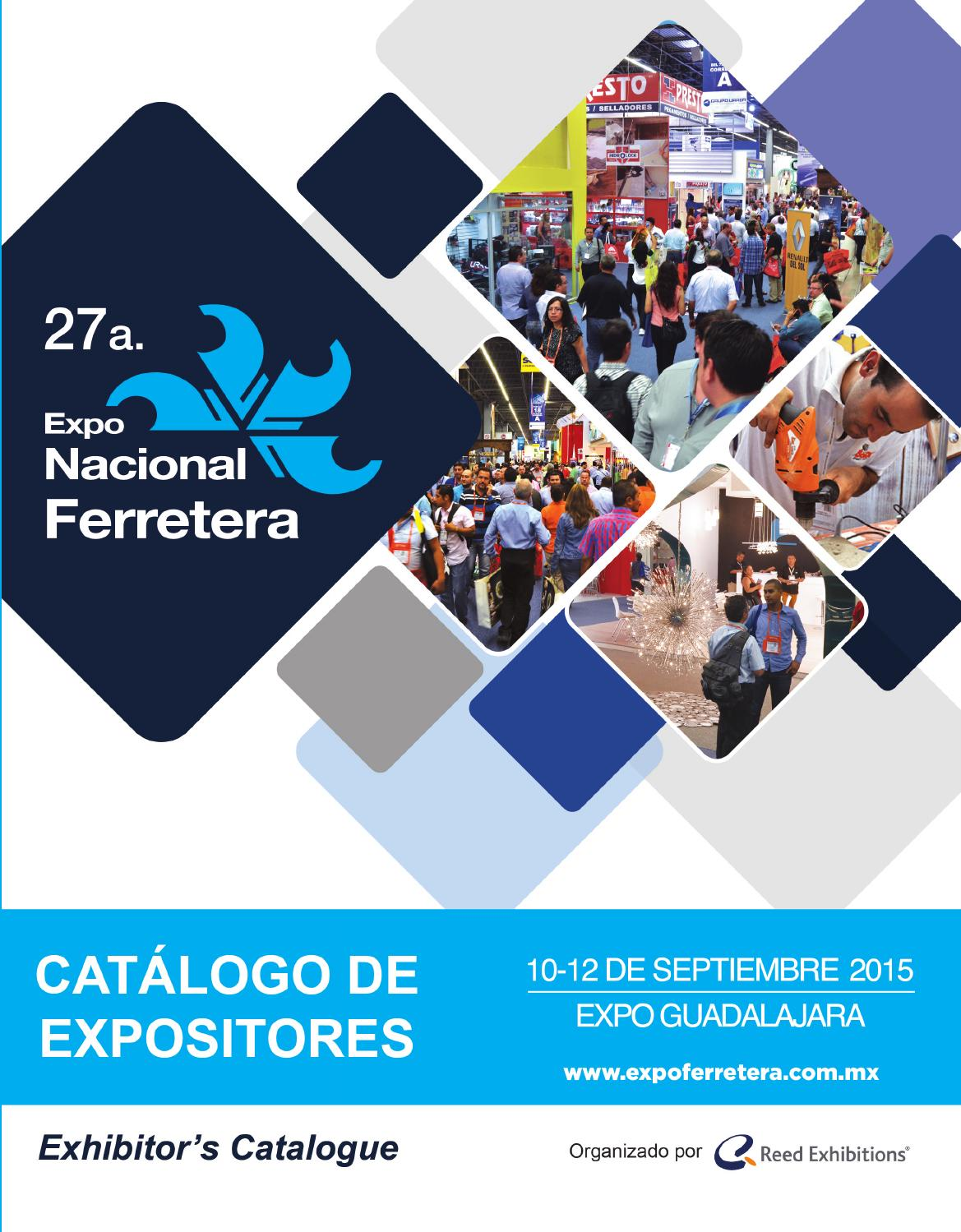 Cat Logo De Expositores 2015 Expo Nacional Ferretera By Reed  # Muebles Lira Gold
