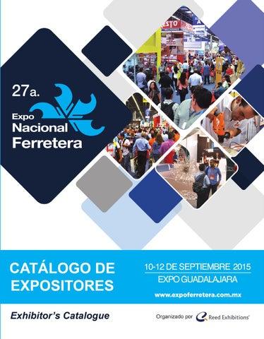 2e7ad9db1 Catálogo de Expositores 2015- Expo Nacional Ferretera by Reed ...