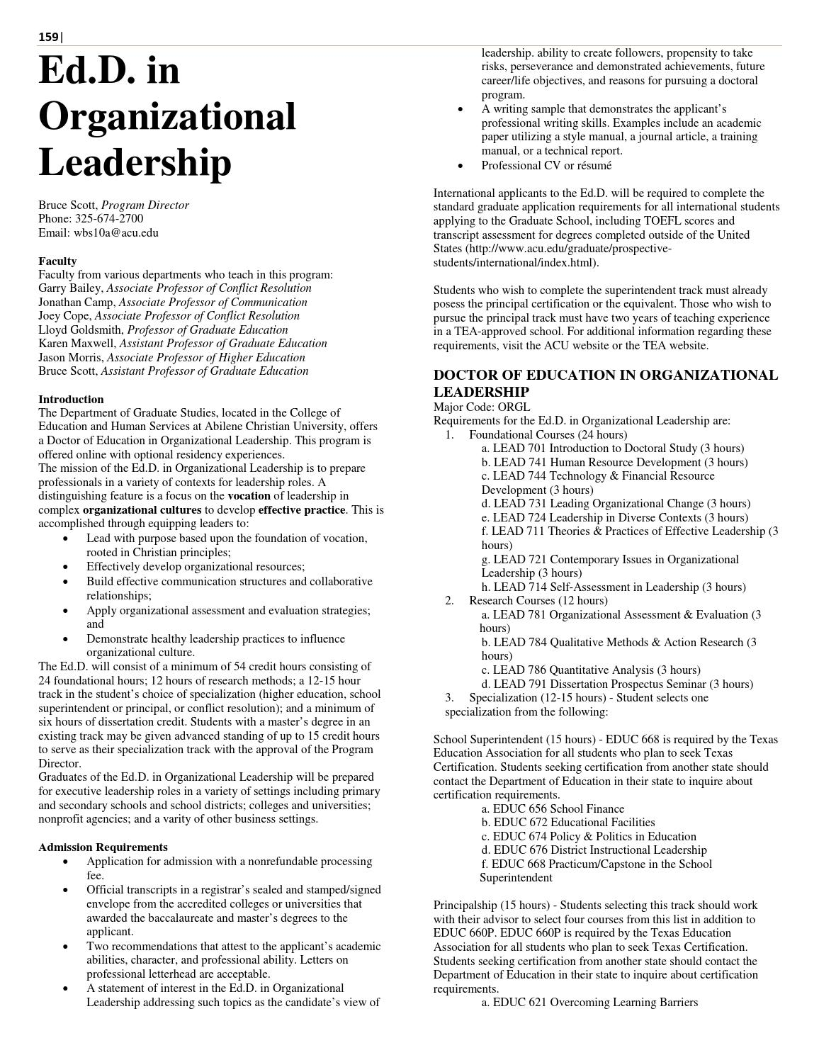 2015-16 Catalog (revised 9/18/15) by Abilene Christian University ...