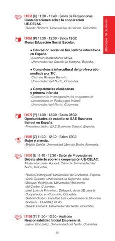 Cátedra Europa 2016 Revista Eventos Principales By