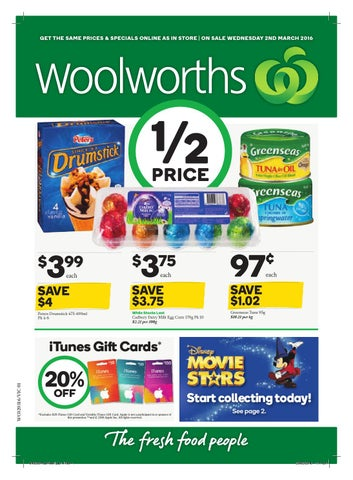 Vic woolworths 020316 080316 by hojunara issuu get the same prices specials online as in store on sale wednesday 2nd march 2016 negle Choice Image