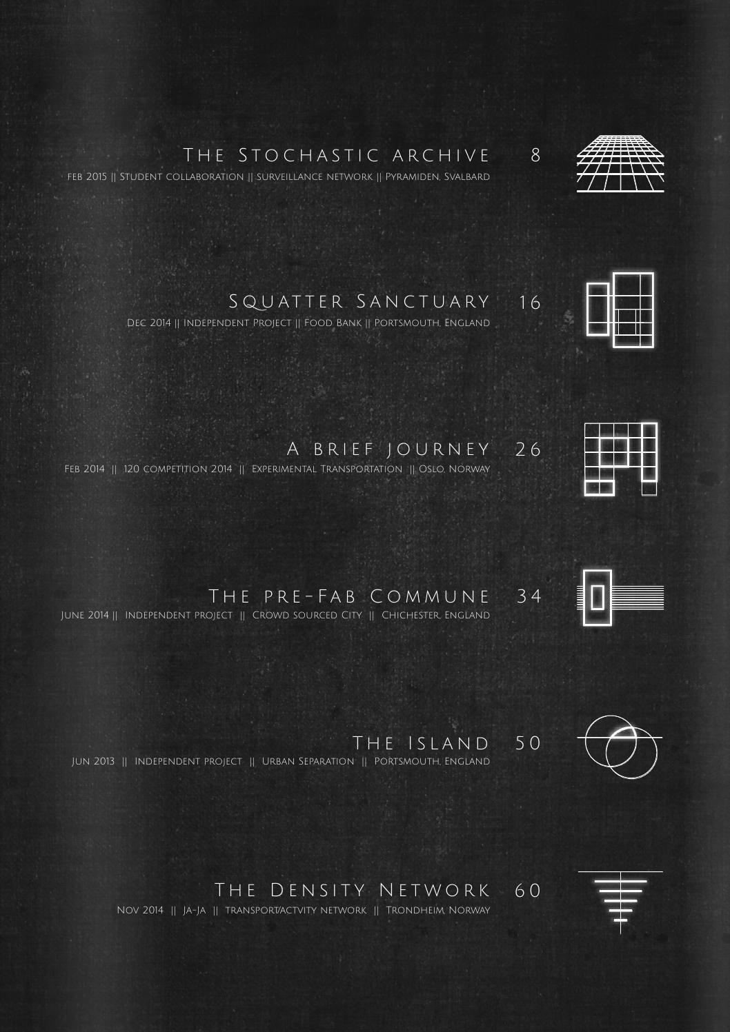 Geoff Eberle - Part 1 Architecture Portfolio - Volume 1 by