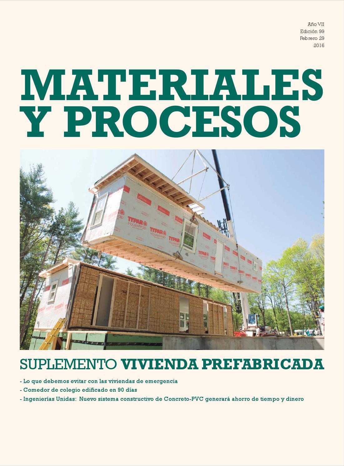 Suplemento vivienda prefabricada by construcci n y - Modulos prefabricados para viviendas ...