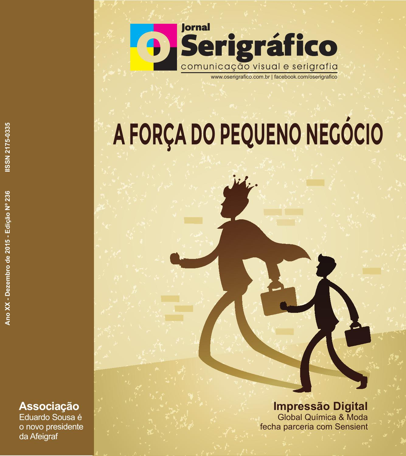 5b3ee696b477d Jornal O Serigráfico Edição 236 - Novembro 2015 by Jornal O Serigráfico -  issuu