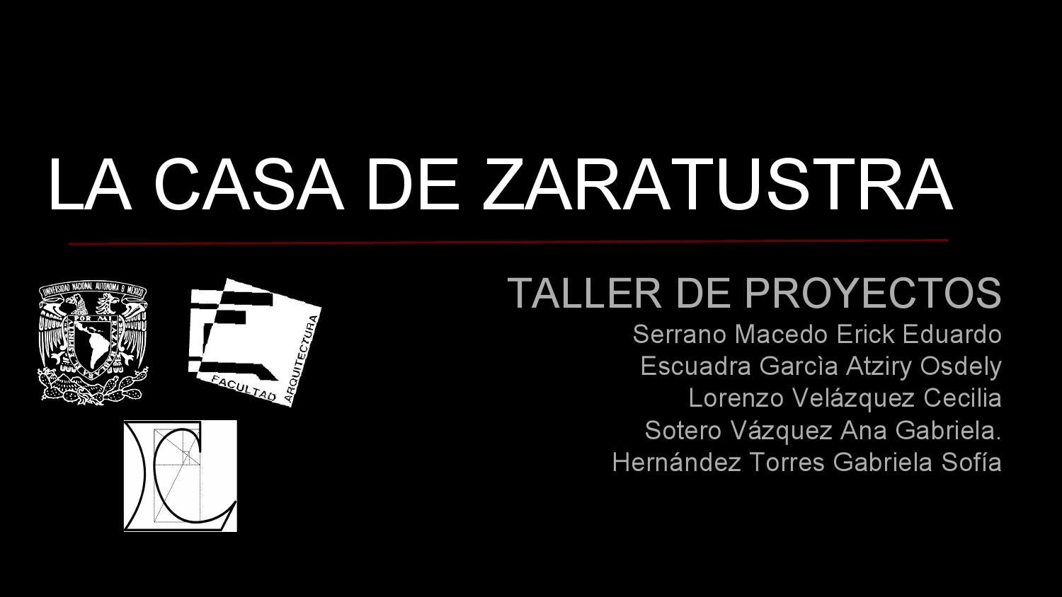 cap 1 la casa de zaratustra by taller leduc 02 issuu. Black Bedroom Furniture Sets. Home Design Ideas