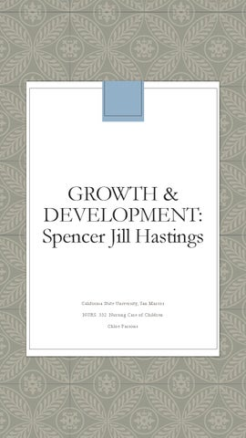 ca65a426 Growth and Development ISSU Parsons by chloe.parsons - issuu