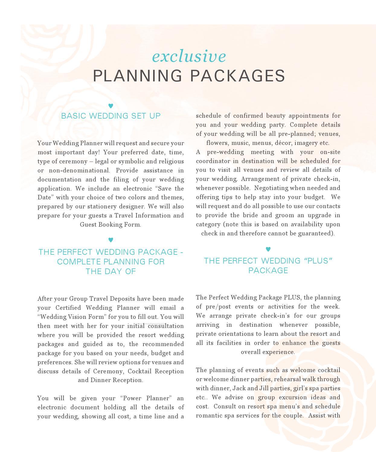 Wedding Planning Package By Masako BaObaid