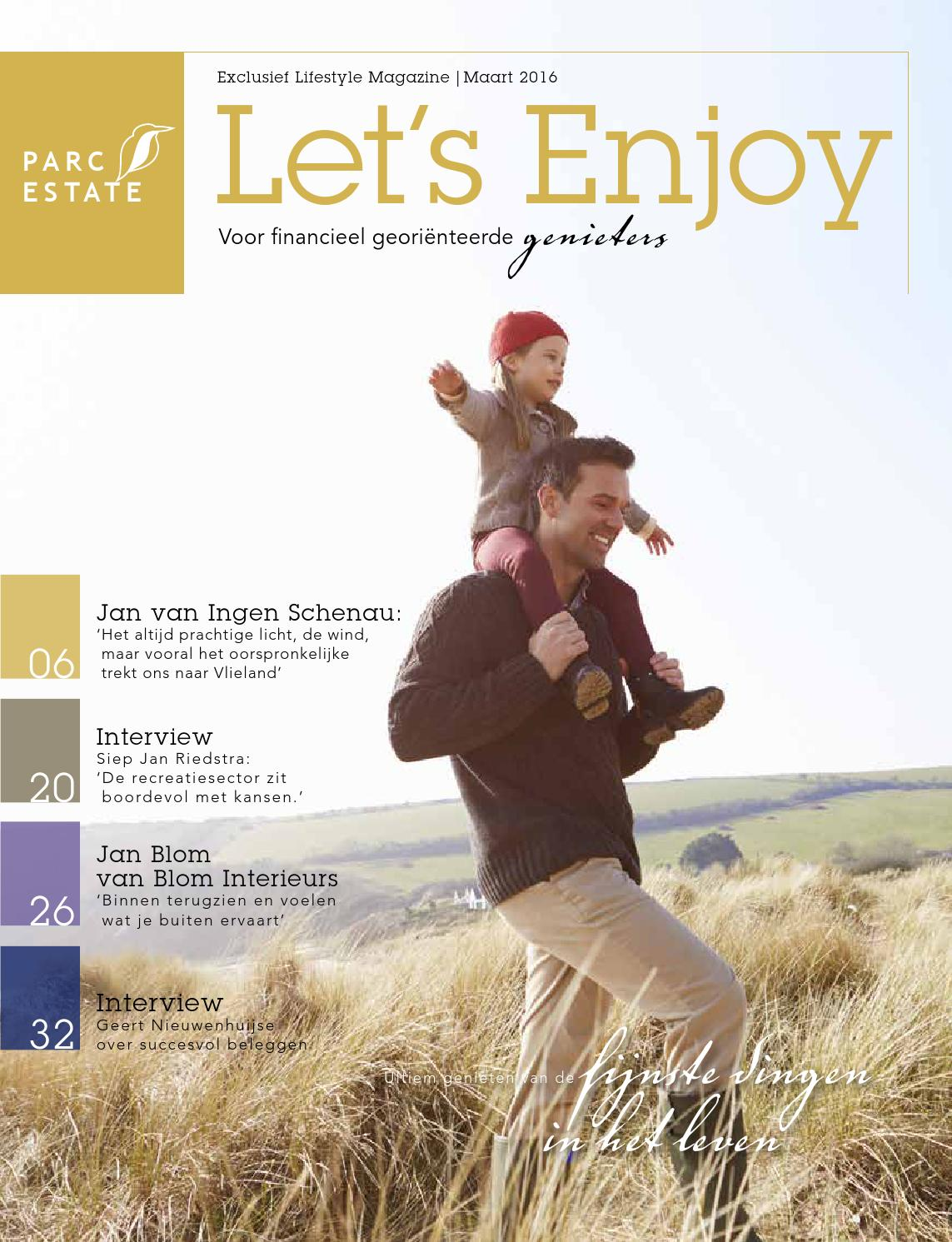 Parc estate magazine let´s enjoy 2016 by Parc Estate - issuu