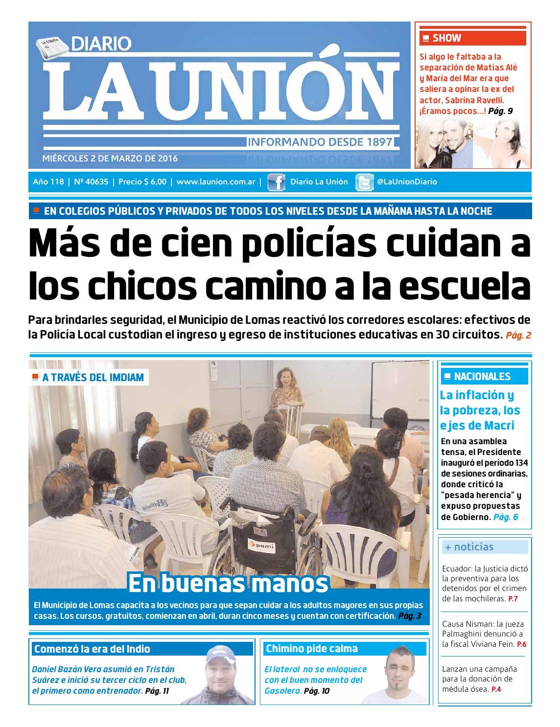 02/03/2016 by Diario La Unión - issuu