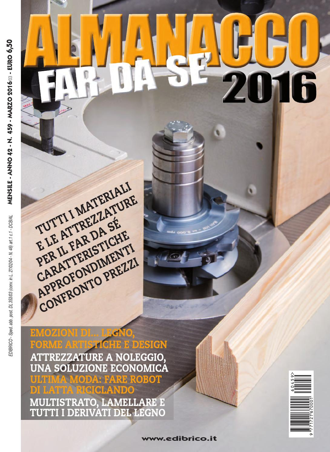 Almanacco Far da sé 2016 by Edibrico - issuu 5bf25384937