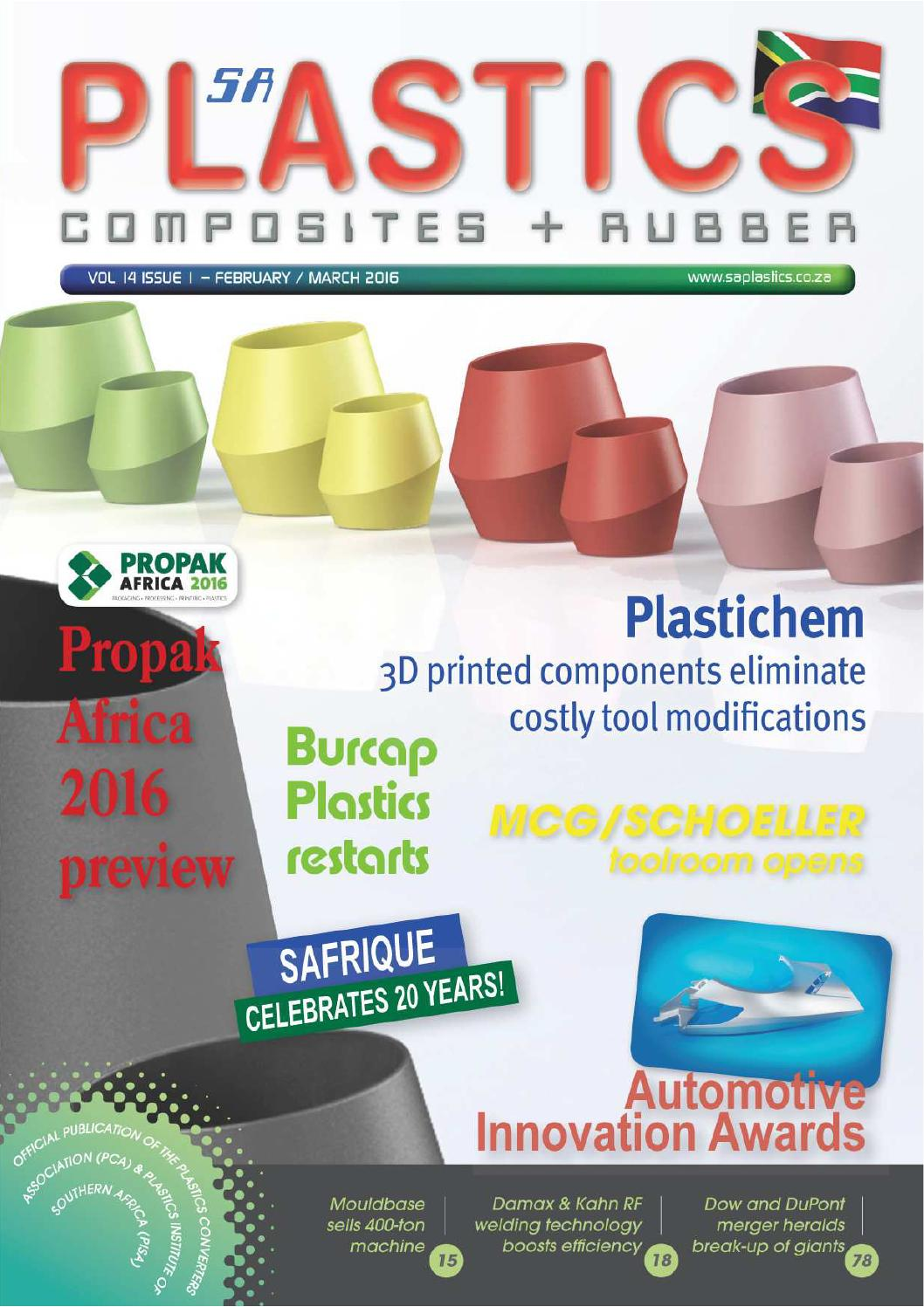 Sa Plastics Feb Mar 2016 By Composites Rubber Issuu How To Recycle Gold From Circuit Boards Ehow Uk
