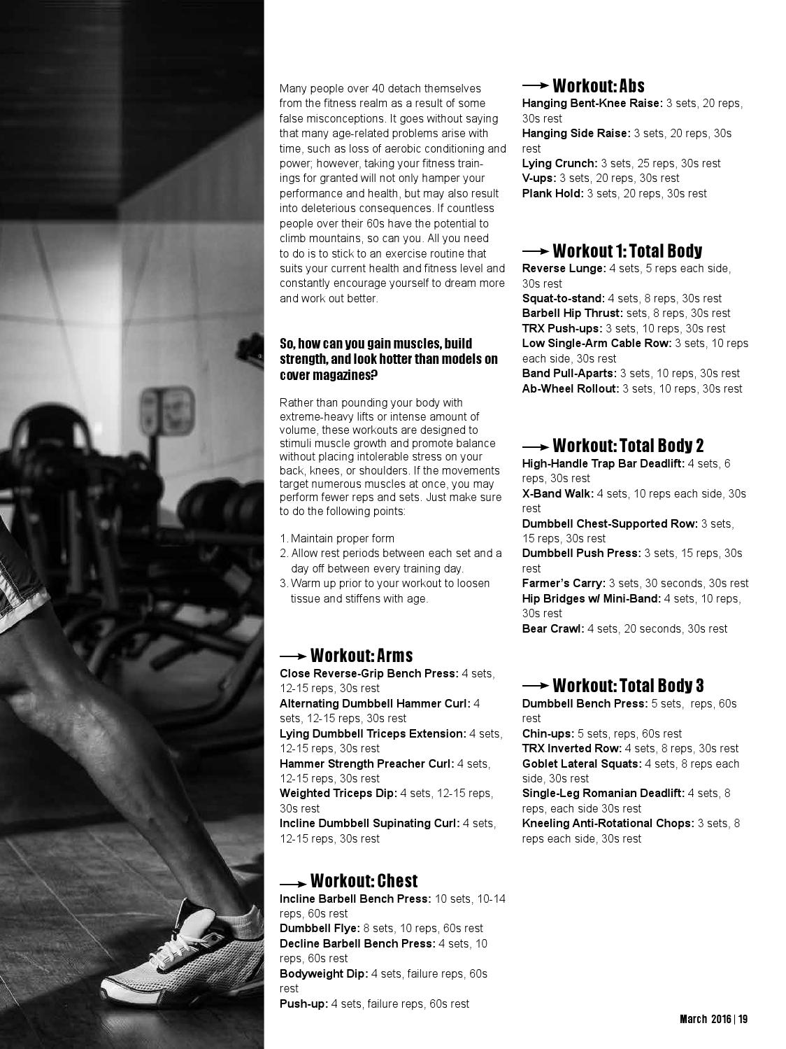 March issue 2016 by The Fitness and Lifestyle Magazine - issuu