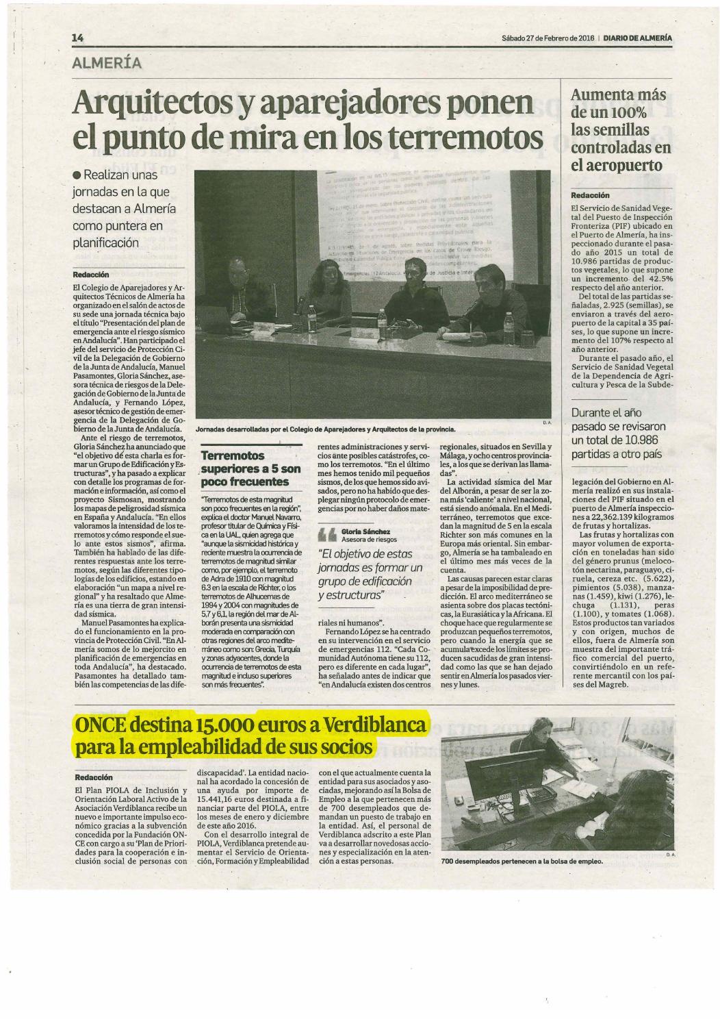 Dossier Prensa Discapacidad 27 Febrero 2 Marzo By Asociaci N  # Muebles Lao Abrucena
