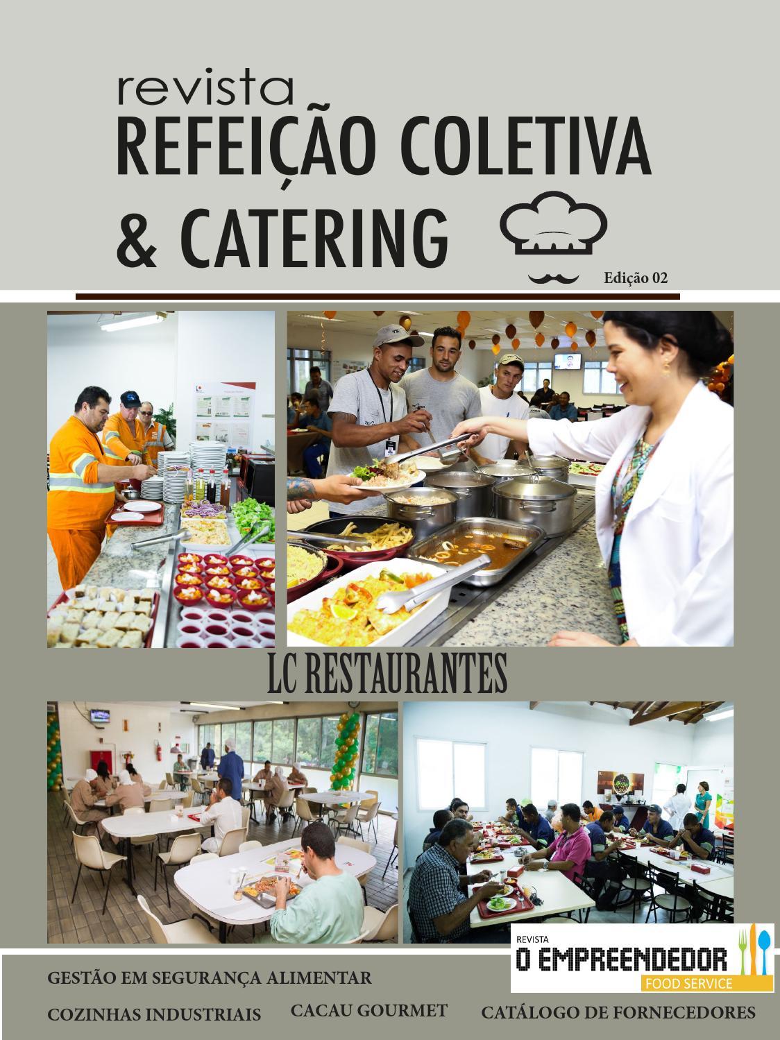 Revista Refei Es Coletivas Catering Ed 02 By Max Foods