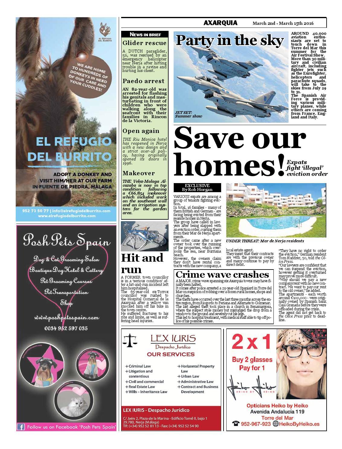 Olive Press Newspaper – Issue 234