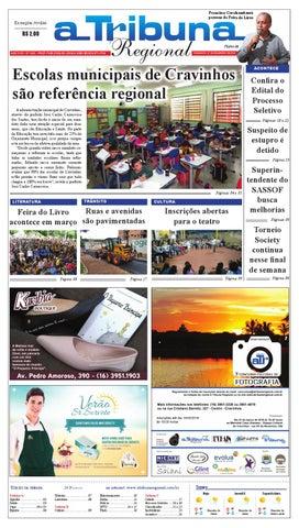 ea96552f51 jornal A Tribuna Regional de Cravinhos by Leandro Cavalcanti - issuu