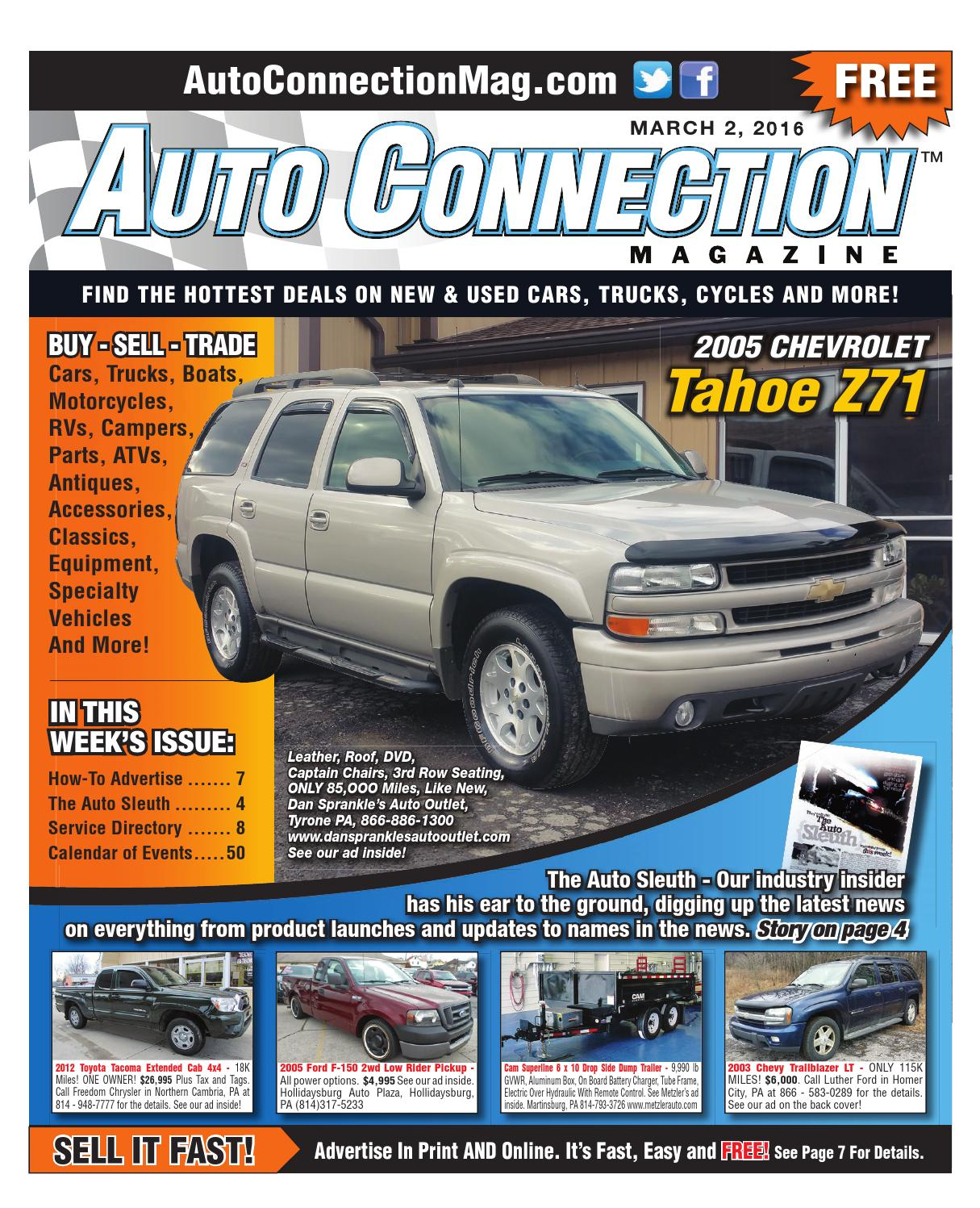 03 02 16 Auto Connection Magazine By Issuu Leer Camper S Wiring Diagram
