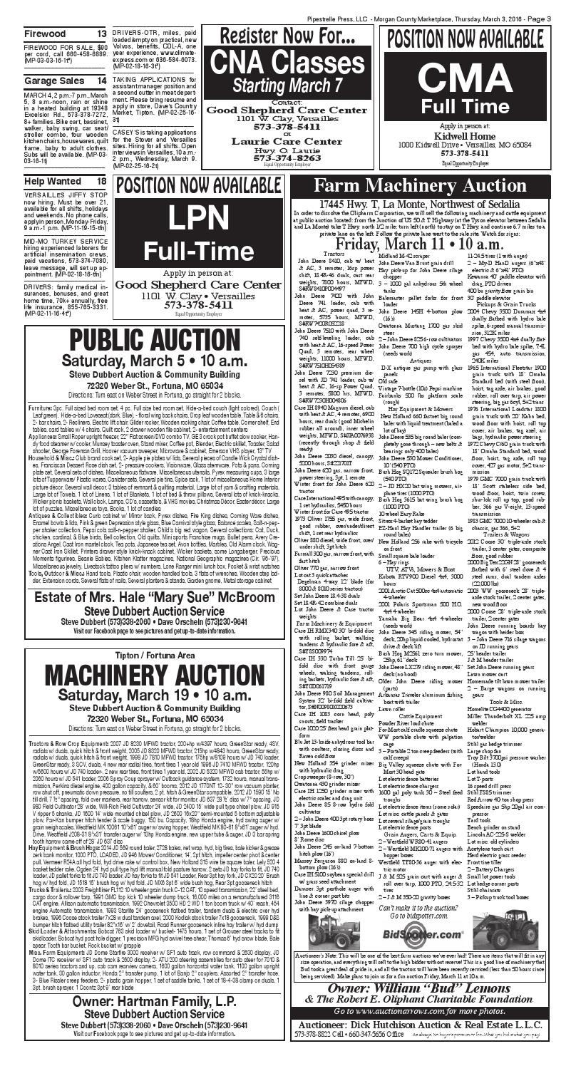 Morgan County Press, March 2, 2016 by Pipistrelle Press - issuu