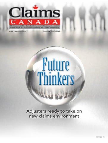 Claims Canada February March 2016