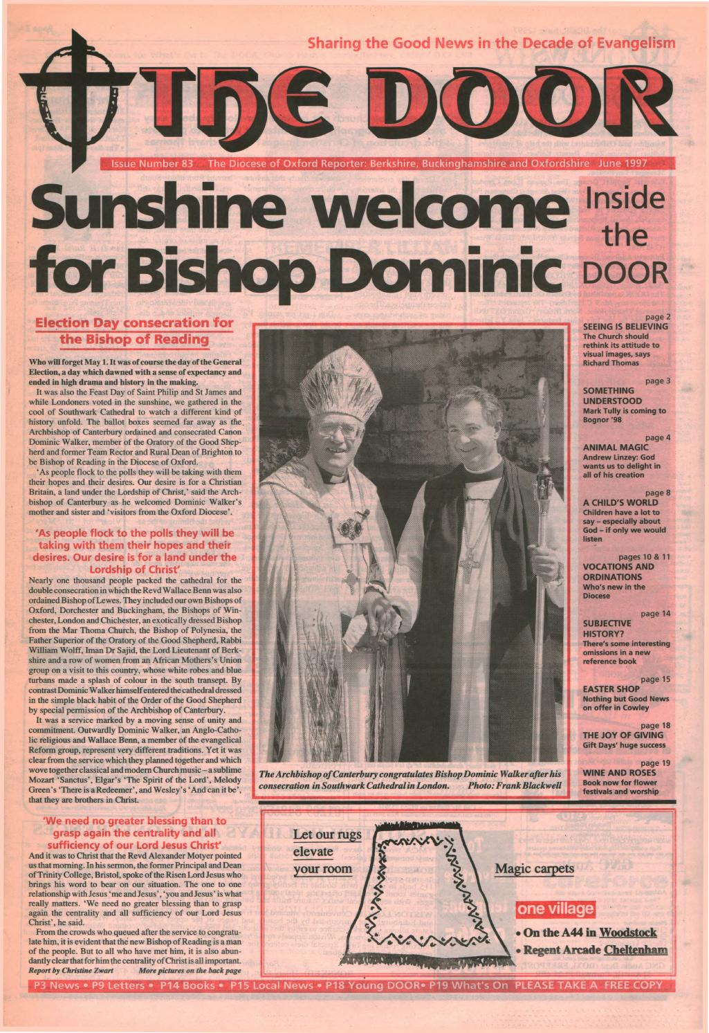 93 June 1998 by Diocese of Oxford - issuu