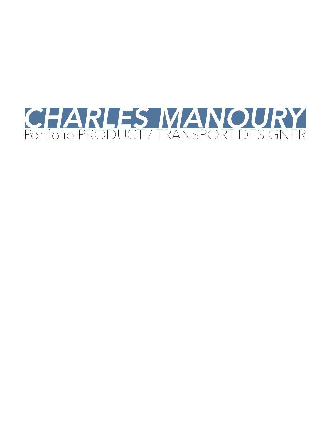 Institut Supérieur De Design Valenciennes portfolio charles manoury isdmanoury - issuu