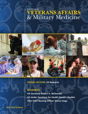 340b68ea6f3 The Year in Veterans Affairs   Military Medicine 2015-2016 by ...