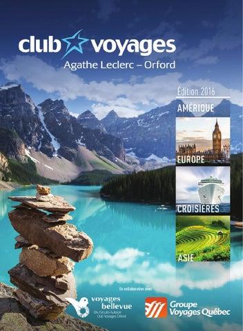 Final By Club Voyages Agathe Leclerc Orford Issuu