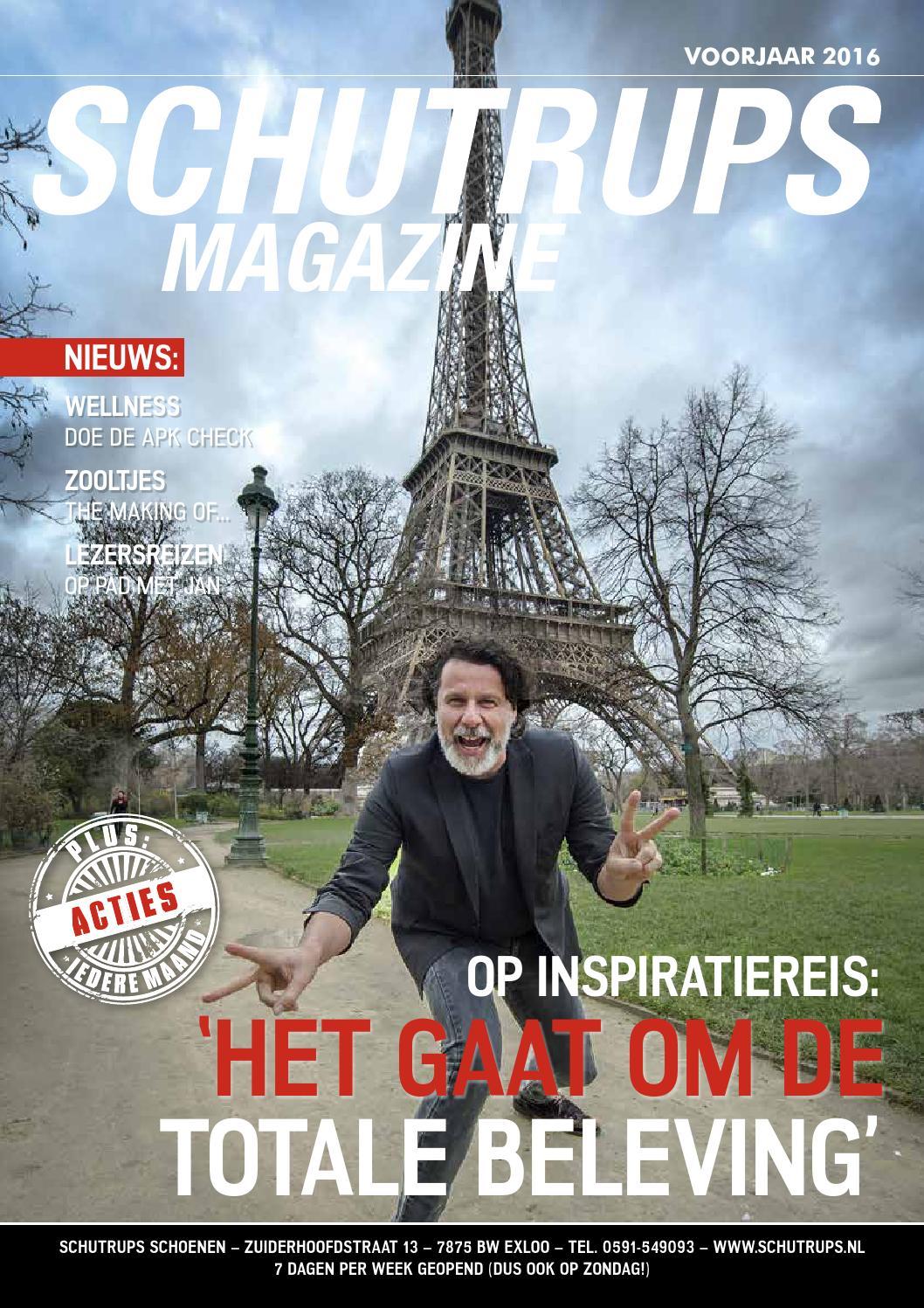 Schutrups Magazine nieuws, events en mooie schoenen by