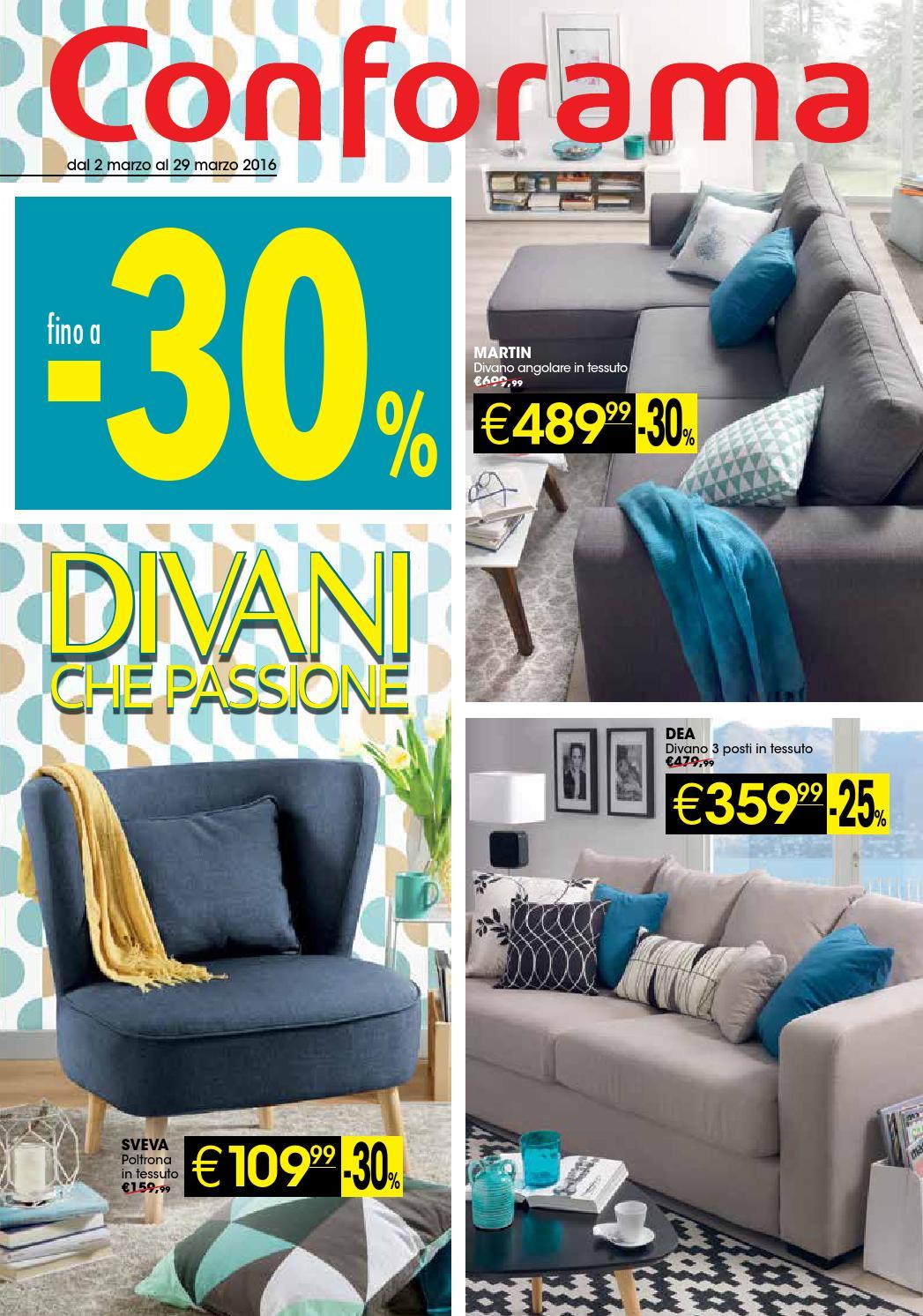 Conforama fino a 30 divano che passione by claudia for Divani da 2 metri