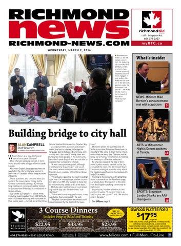 Richmond News March 2 2016 by Richmond News - issuu