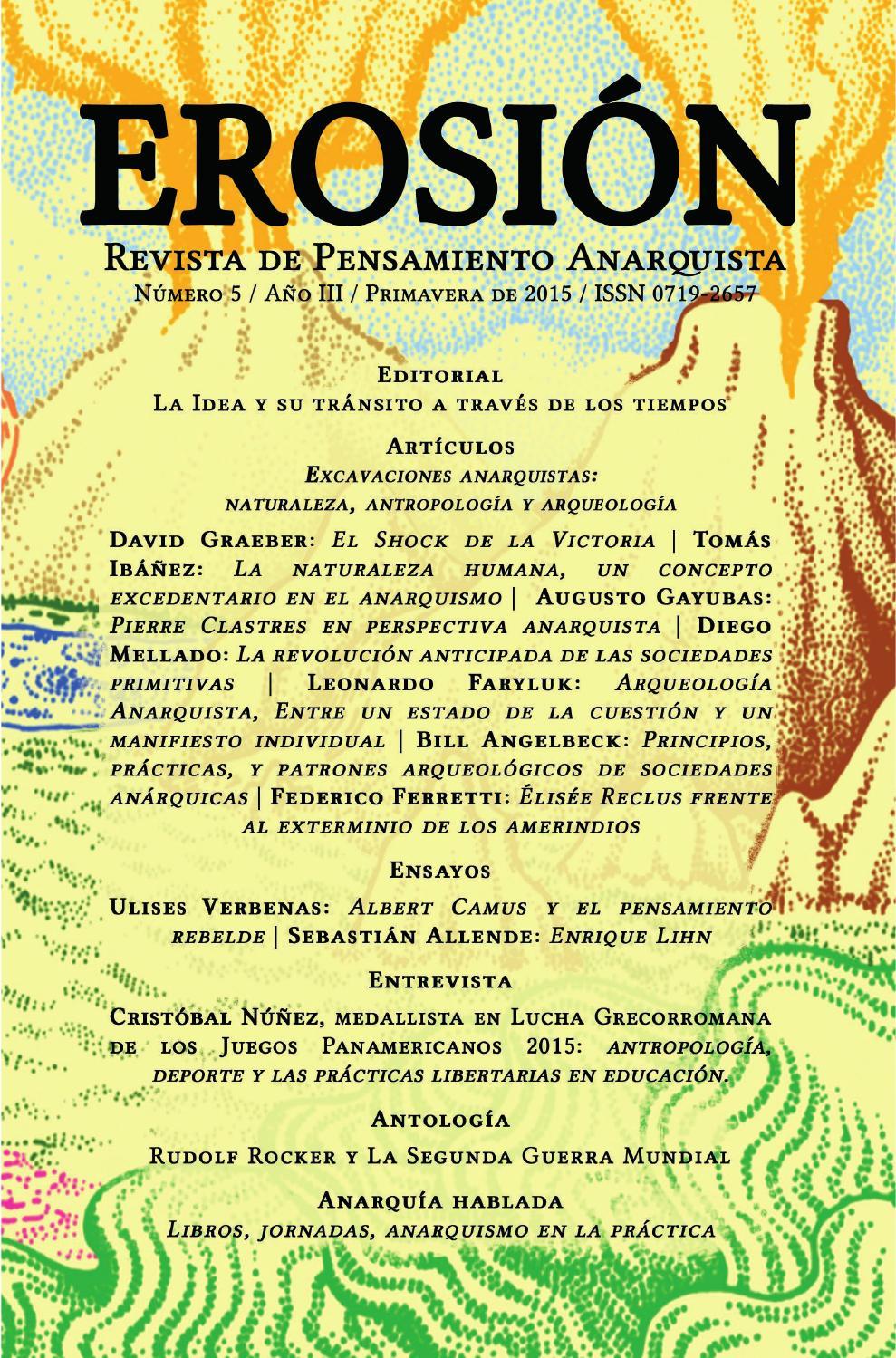 Erosion Revista De Pensamiento Anarquista N 5