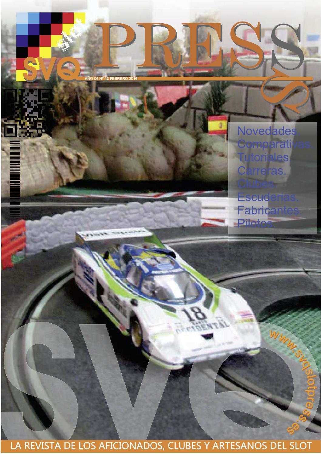 Revista Svq-slot Press Febrero 2016 by Svq-slot Press - issuu