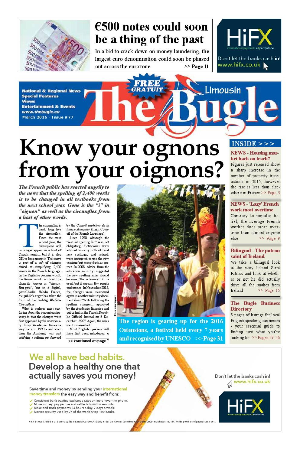 The Bugle Limousin Mar 2016 By The Bugle Issuu