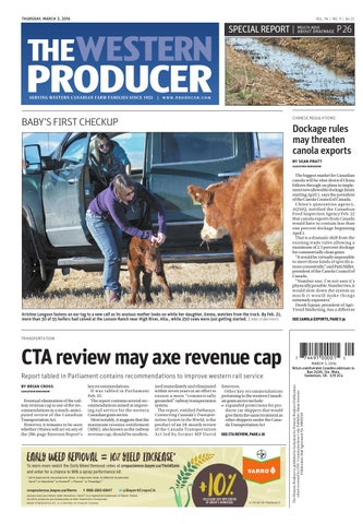 the latest f0010 4770f The western producer march 3, 2016 by The Western Producer - issuu