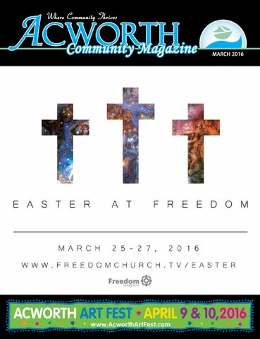 March 2016 issue by acworth community magazine issuu page 1 fandeluxe Images