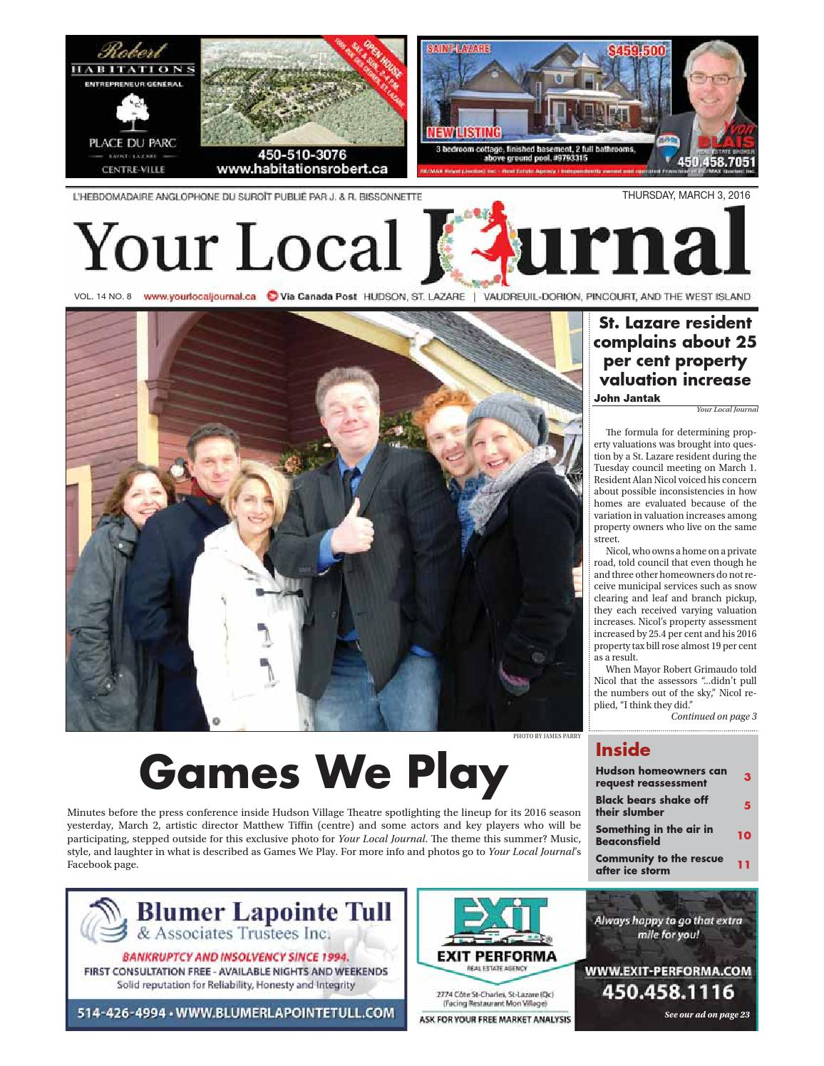 Your Local Journal - March 3rd, 2016 by Your Local Journal