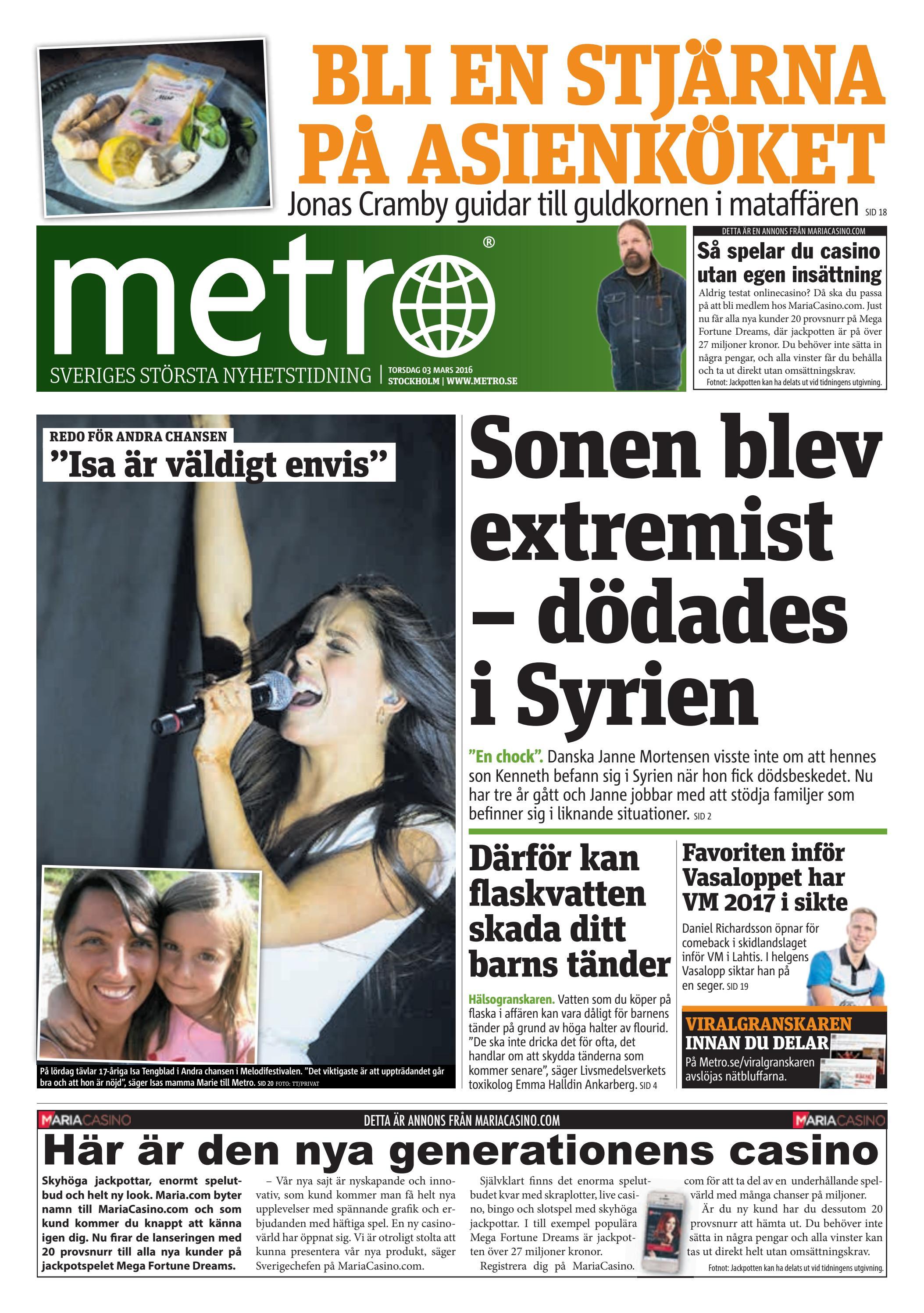 29b7b5df7215 20160303_se_stockholm by Metro Sweden - issuu