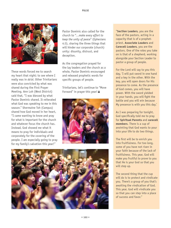 Trinitarian Magazine Issue 1/2016 by Trinity Christian
