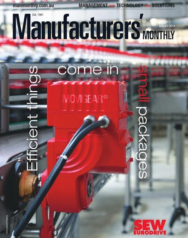Manufacturers' Monthly August 2014 by PrimeCreative - issuu