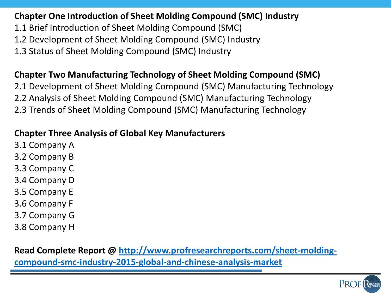 Chinese sheet molding compound (smc) market by sanamcneese