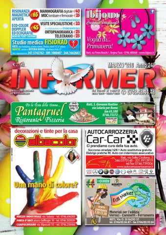 3909a86f90 INFORMER marzo 2016 by informer - issuu