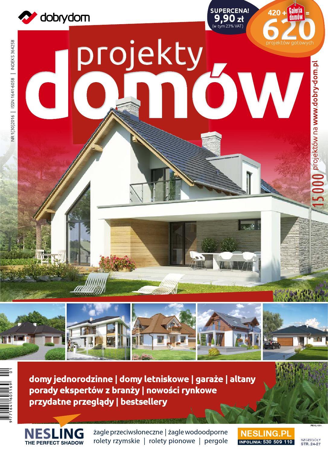Projekty Domów 30 Cz1 By Dobry Dom Issuu