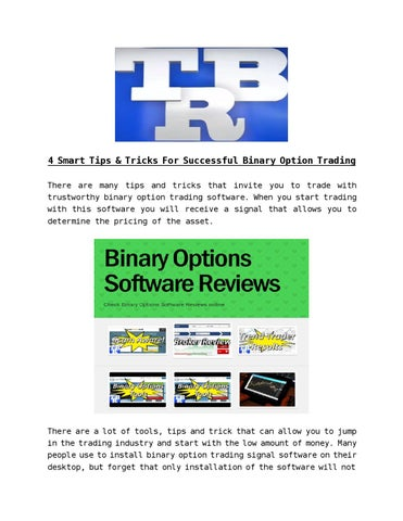 Can people be sucessful at binary options опционы индексов