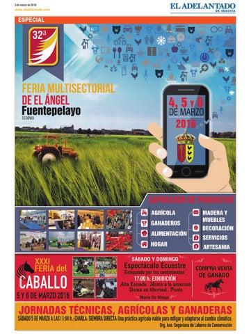 Feria De El ángel 2016 Fuentepelayo Segovia By Adelantado De Segovia Issuu