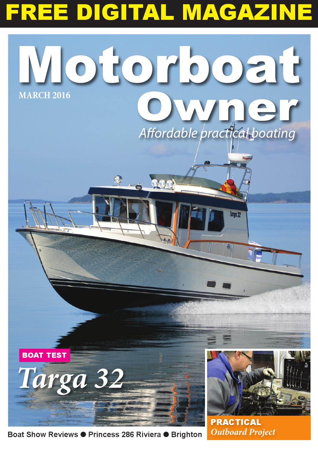 Motorboat Owner March 2016 By Digital Marine Media Ltd Issuu Riviera Car Wiring Diagrams Free