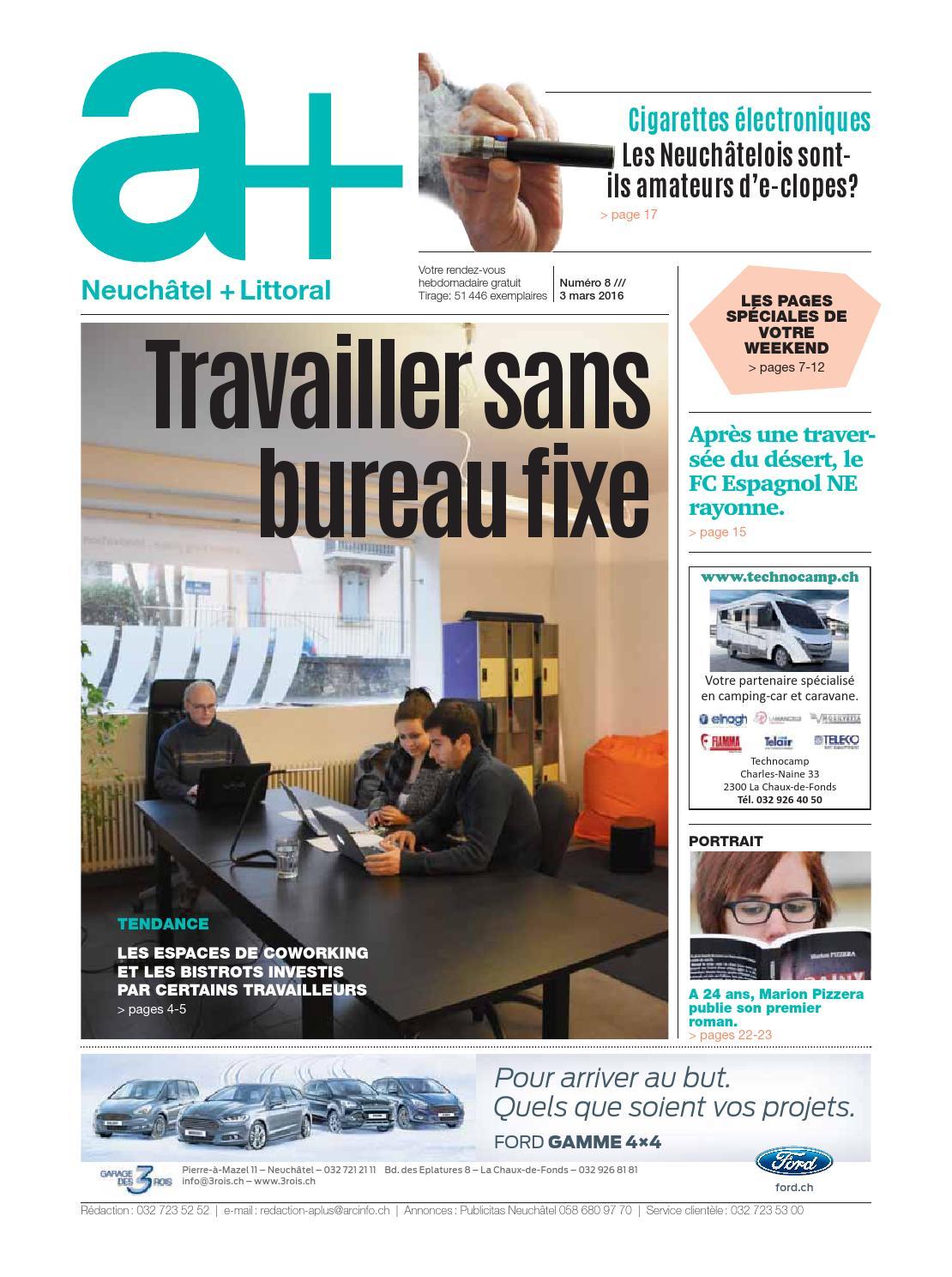 A+ Neuchâtel + Littoral   Edition Du 3 Mars 2016 By ESH Médias   Issuu