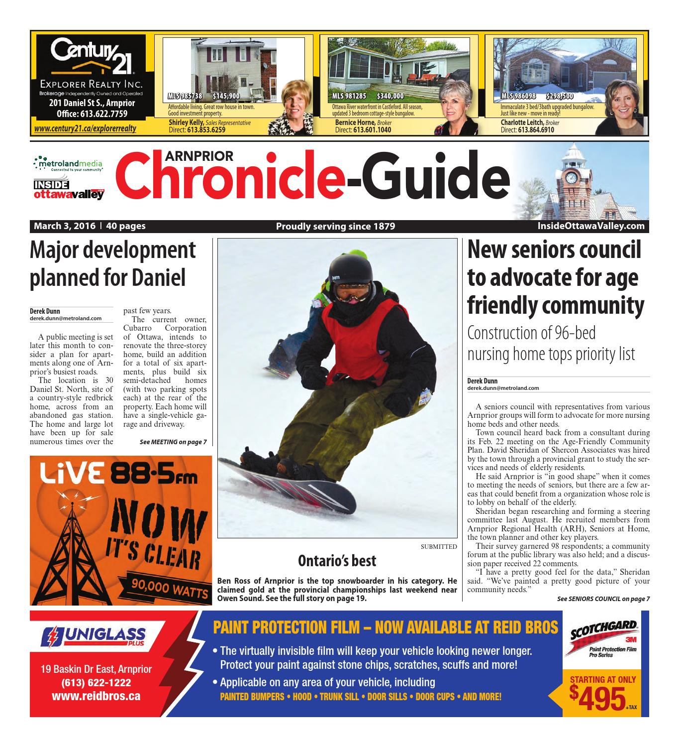 Arnprior030316 by Metroland East - Arnprior Chronicle-Guide - issuu d2db8bcf0f20
