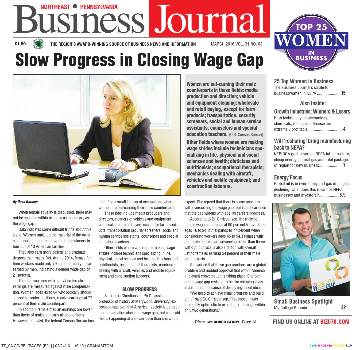 Northeast Pennsylvania Business Journal - March 2016 by CNG