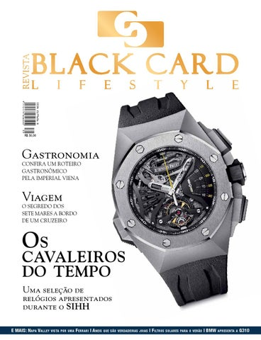 f4539b89ff4 Revista Black Card Lifestyle - Edição 40 by Revista BlackCard ...